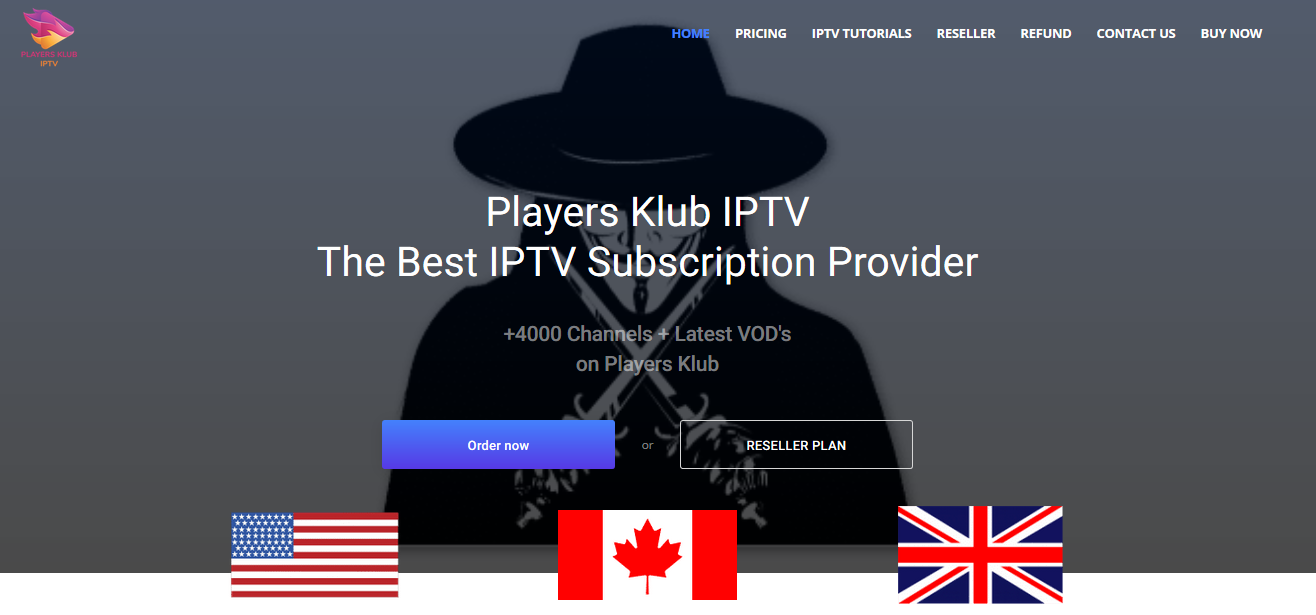 Players Klub IPTV The Best IPTV Subscription Provider
