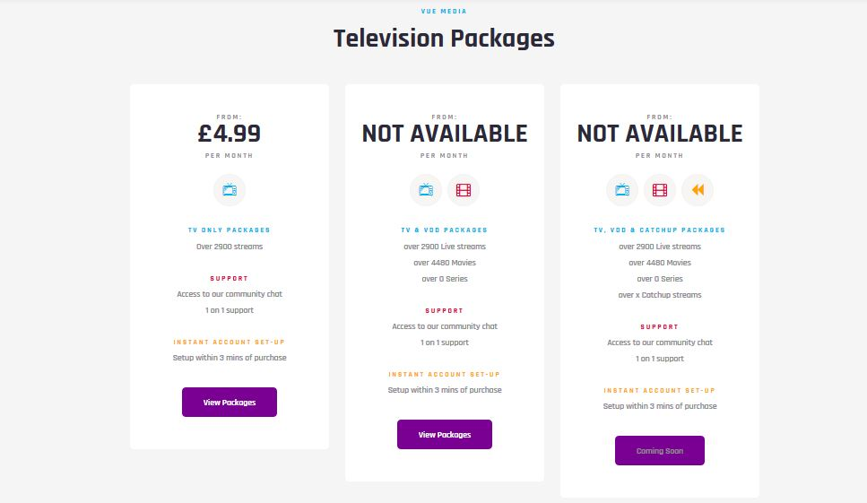vue media pricing