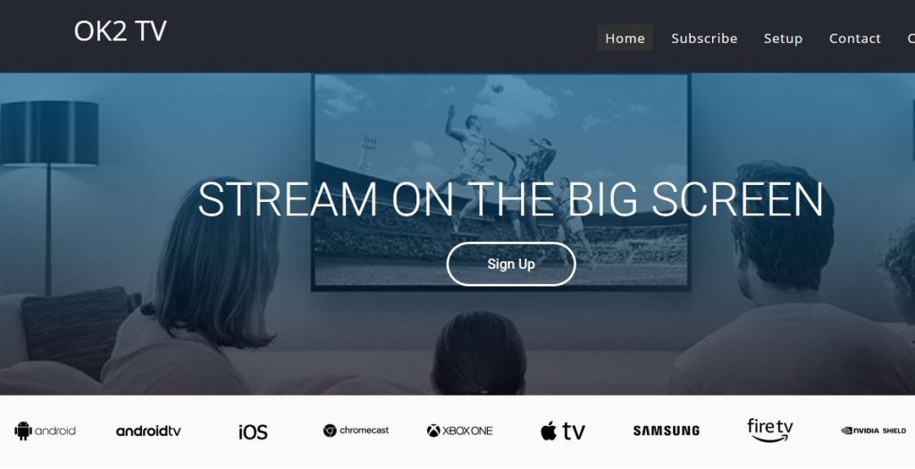 OK2 IPTV the best TV content provider for Candian IPTV Cable TV
